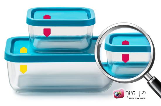 מדבקות התאמת מכסה לקופסה/סיר