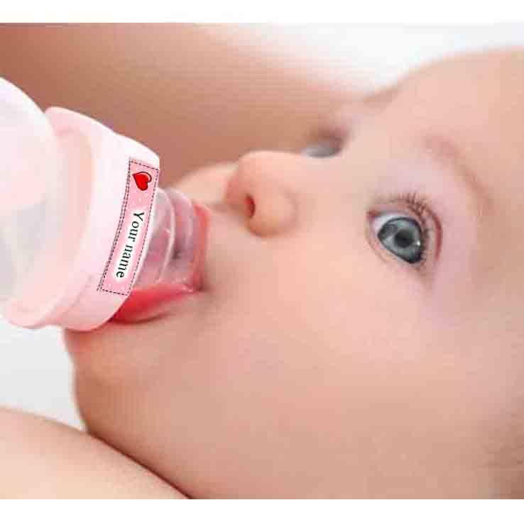 מדבקות שם לבקבוקים ומוצצים ב 15.90 בלבד